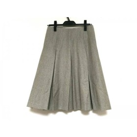 【中古】 クロエ Chloe スカート サイズT36 レディース グレー