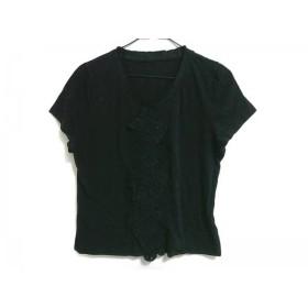 【中古】 ティービー/センソユニコ t.b 半袖カットソー サイズ40 M レディース 黒 刺繍