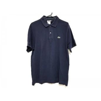 【中古】 ラコステ Lacoste 半袖ポロシャツ サイズ4 XL メンズ ダークネイビー