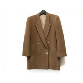 【中古】 ニューヨーカー NEW YORKER コート サイズ9AR S レディース ライトブラウン 冬物 毛