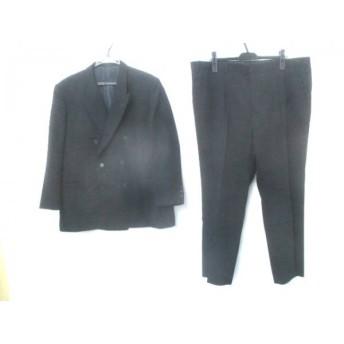 【中古】 ノーブランド ダブルスーツ サイズ102-E 5 メンズ ブラック