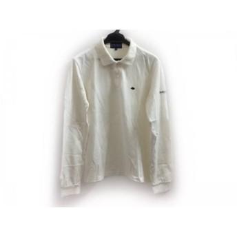 【中古】 パーリーゲイツ PEARLY GATES 長袖ポロシャツ サイズ1 S メンズ 白 GOLF