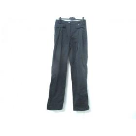【中古】 ローレル Laurel パンツ サイズ36 S レディース ブラック