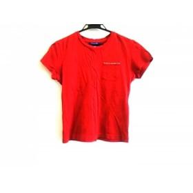 【中古】 バーバリーブルーレーベル Burberry Blue Label 半袖Tシャツ サイズM レディース レッド