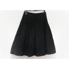 【中古】 ヴェロニク・ブランキーノ VERONIQUE BRANQUINHO スカート サイズ36 S レディース 黒