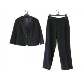 【中古】 ダナキャラン DKNY レディースパンツスーツ サイズ6 M レディース 黒