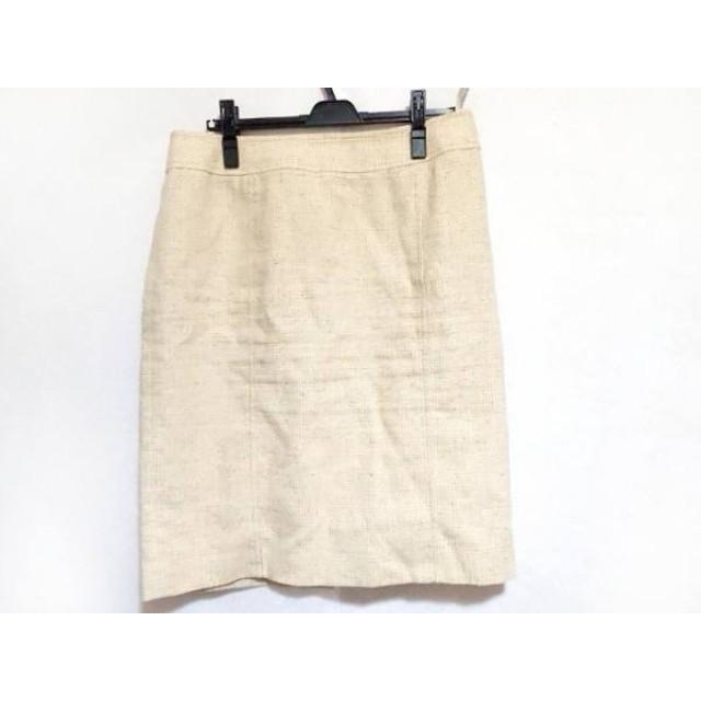 【中古】 バーバリーロンドン Burberry LONDON スカート サイズ46 XL レディース アイボリー