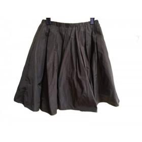 【中古】 チェスティ Chesty ミニスカート サイズ1 S レディース カーキ