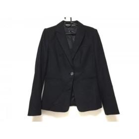 【中古】 バナナリパブリック BANANA REPUBLIC ジャケット サイズ2 S レディース 美品 黒