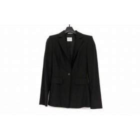 【中古】 ジャンフランコフェレ GIANFRANCO FERRE ジャケット サイズ38 S レディース 美品 黒