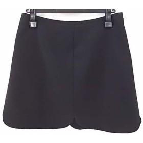 【中古】 ミューズデドゥーズィエムクラス ミニスカート サイズ36 S レディース 美品 黒