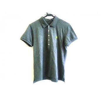 【中古】 ポロラルフローレン POLObyRalphLauren 半袖ポロシャツ サイズXL175/100A メンズ ダークグレー