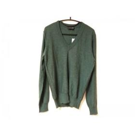 【中古】 ドルチェアンドガッバーナ DOLCE & GABBANA 長袖セーター サイズ48 M メンズ グリーン