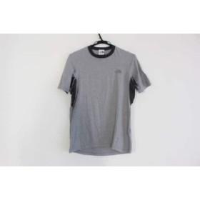 【中古】 ノースフェイス THE NORTH FACE 半袖Tシャツ サイズS メンズ グレー ダークグレー