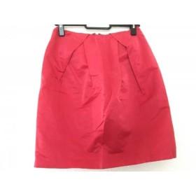 【中古】 ジャスグリッティー JUSGLITTY ミニスカート サイズ0 XS レディース レッド