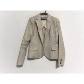【中古】 ビアッジョブルー Viaggio Blu ジャケット サイズ3 L レディース ベージュ