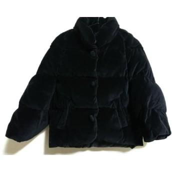【中古】 カージュ KHAJU ダウンジャケット レディース 黒 冬物