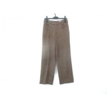 【中古】 メイソングレイ MAYSON GREY パンツ サイズ2 M レディース ブラウン