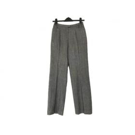 【中古】 レリアン Leilian パンツ サイズ11 M レディース グレー