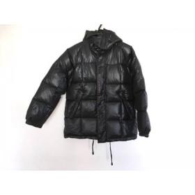 【中古】 ダナキャラン DKNY ダウンジャケット メンズ ダークグレー 冬物