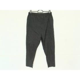 【中古】 ミズイロインド mizuiro ind パンツ サイズ2 M メンズ 黒