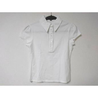 【中古】 セオリー theory 半袖ポロシャツ サイズ2 S レディース 白