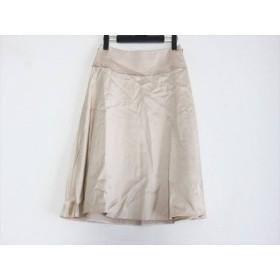 【中古】 トゥービーシック TO BE CHIC スカート サイズ40 M レディース ベージュ