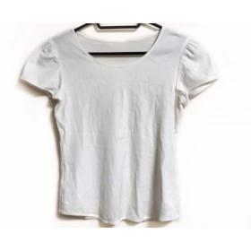 【中古】 ランバンコレクション LANVIN COLLECTION 半袖Tシャツ サイズ38 M レディース アイボリー