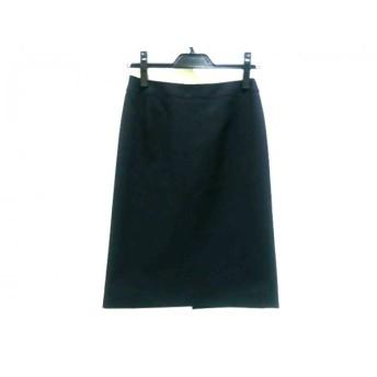 【中古】 インディビ INDIVI スカート サイズ38 M レディース 黒