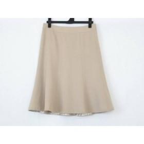 【中古】 バーバリーロンドン Burberry LONDON スカート サイズ38 L レディース ベージュ