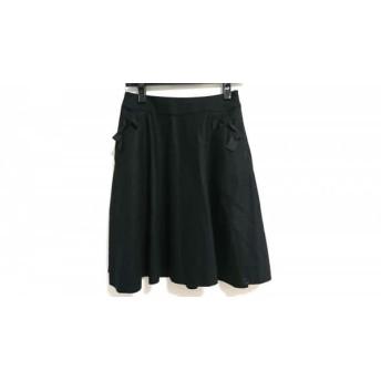 【中古】 トゥービーシック TO BE CHIC スカート サイズ38 M レディース 黒 リボン