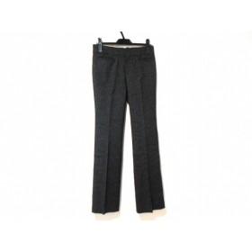 【中古】 ニジュウサンク 23区 パンツ サイズ38 M レディース 美品 ダークグレー