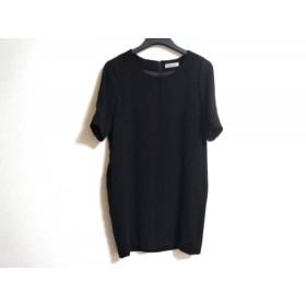【中古】 ダーマコレクション DAMAcollection ワンピース サイズ9 M レディース 美品 黒 HIROMI OSHIDA