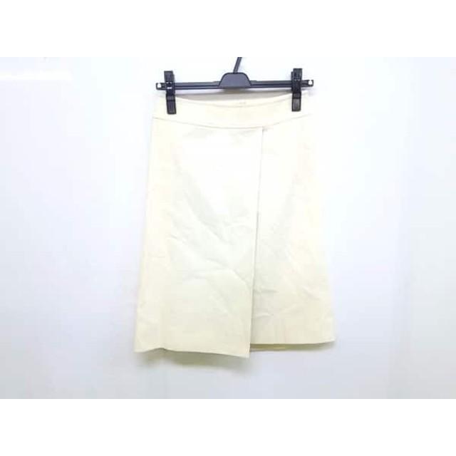 【中古】 バーバリーロンドン Burberry LONDON スカート サイズ7 S レディース アイボリー