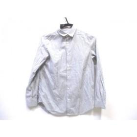 【中古】 ロペピクニック RopePicnic 長袖シャツ サイズ38 M レディース グレー ホワイト