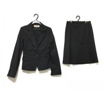 【中古】 プロポーションボディドレッシング スカートスーツ サイズ2 M レディース 黒