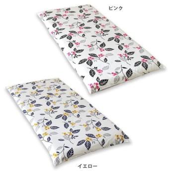 メリーナイトスタイル 綿100% 敷き布団カバー カラント シングルロング 105×215cm