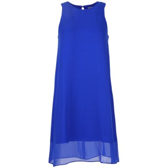 《期間限定セール開催中!》EACH X OTHER レディース ミニワンピース&ドレス ブルー S シルク 100%