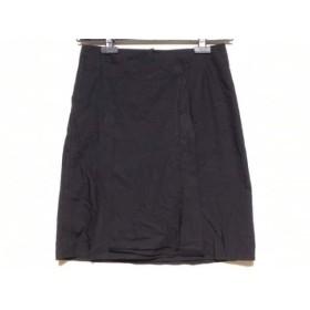 【中古】 チヴィディーニ CIVIDINI スカート サイズ40 M レディース 黒