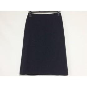 【中古】 サルバトーレフェラガモ SalvatoreFerragamo スカート サイズ40 ( I ) レディース 美品 黒