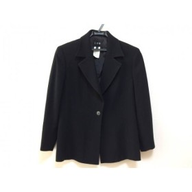 【中古】 アイシービー ICB ジャケット サイズ11 M レディース 黒