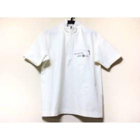 【中古】 アダバット Adabat 半袖ポロシャツ メンズ 白