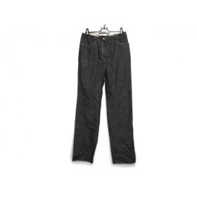 【中古】 バーバリーロンドン Burberry LONDON パンツ サイズ40 L レディース 美品 ネイビー