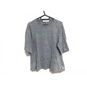 【中古】 エンフォルド ENFOLD 半袖Tシャツ サイズ38 M レディース グレー