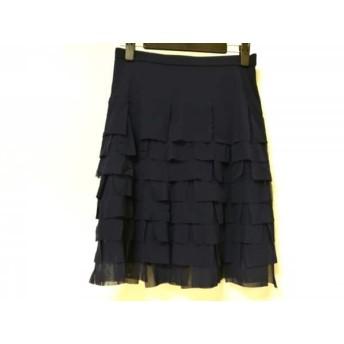 【中古】 ヴィヴィアンタム VIVIENNE TAM スカート サイズ0 XS レディース ブルー ティアード
