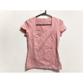 【中古】 エムプルミエブラック M-premierBLACK 半袖Tシャツ サイズ38 M レディース ピンク