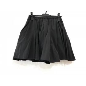 【中古】 フレイアイディー FRAY I.D スカート サイズF レディース 黒