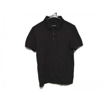 【中古】 ルイヴィトン LOUIS VUITTON 半袖ポロシャツ サイズXS メンズ ダークブラウン