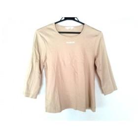 【中古】 インゲボルグ INGEBORG 長袖Tシャツ サイズS レディース 美品 ベージュ アイボリー