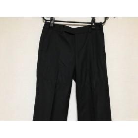 【中古】 ニジュウサンク 23区 パンツ サイズ32 XS レディース ダークグレー グレー ストライプ